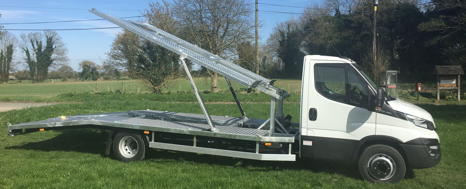 7.5t recovery truck raised platform