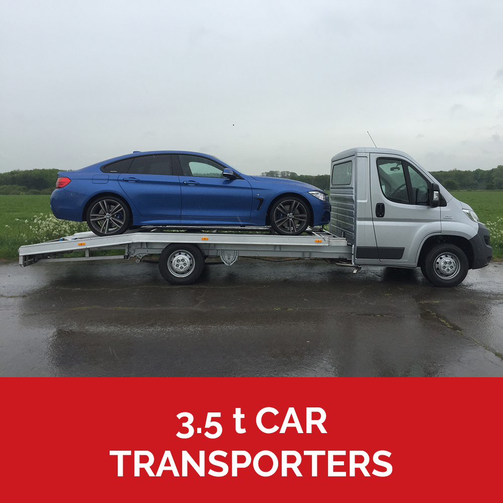 3.5t car transporters
