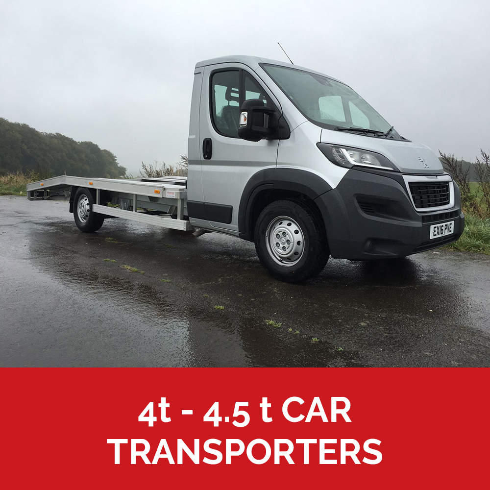 4.5t car transporters