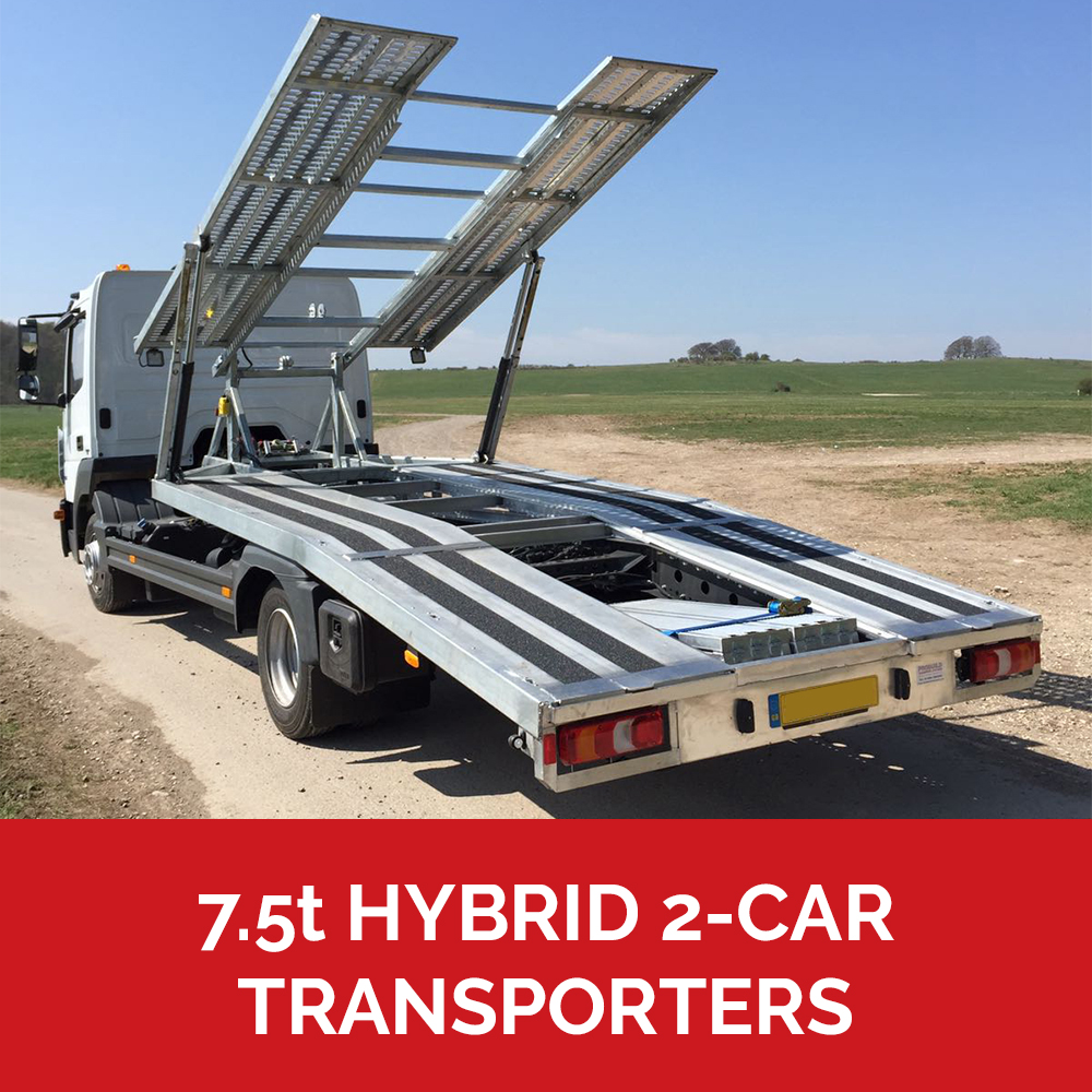 7.5t car transporters